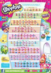 Shopkins Season 1 Collectors Guide Checklist