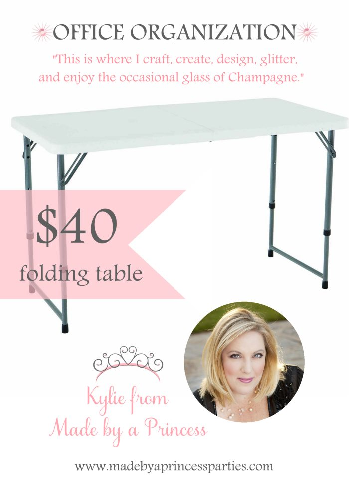 made by a princess pick folding table