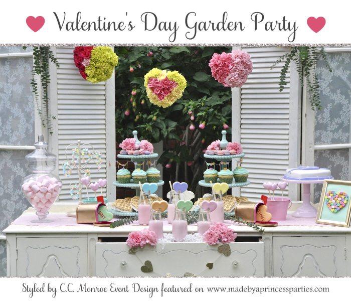 Valentines Day Garden Party