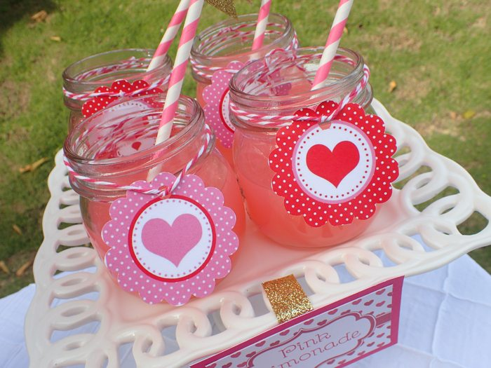 Sweet Party for Sweet Girls pink lemonade