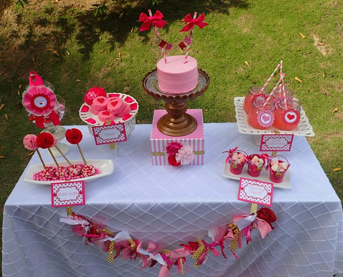 Sweet Party for Sweet Girls sweets table