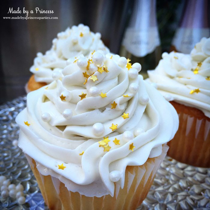sparkling champagne cupcakes 1