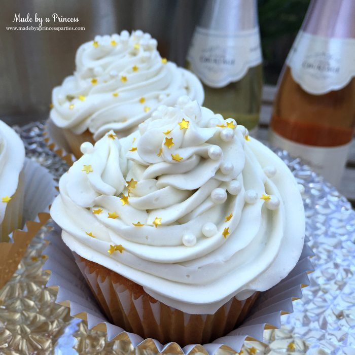 sparkling champagne cupcakes 3