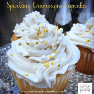 Sparkling Champagne Cupcake Recipe