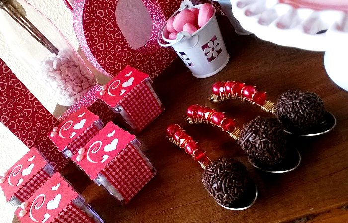 sweet on you valentine party chocolates