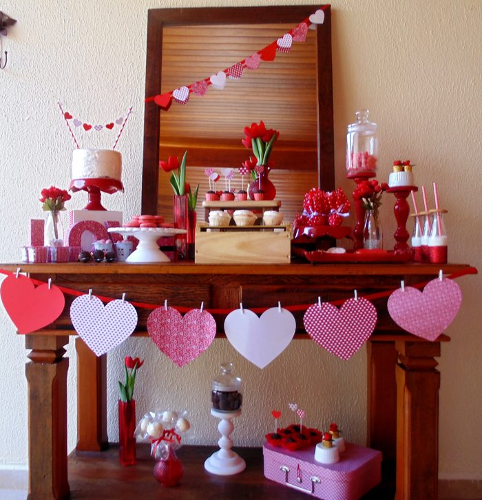 sweet on you valentine party desserts