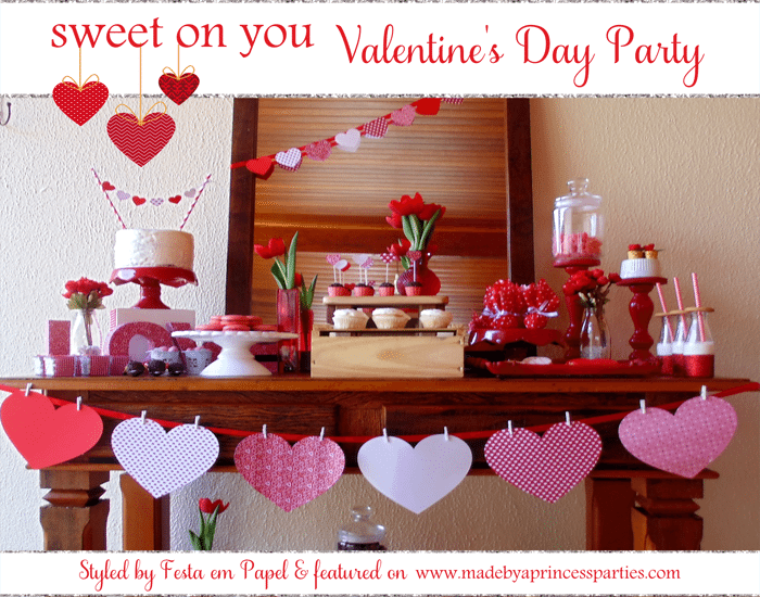 sweet on you valentine party