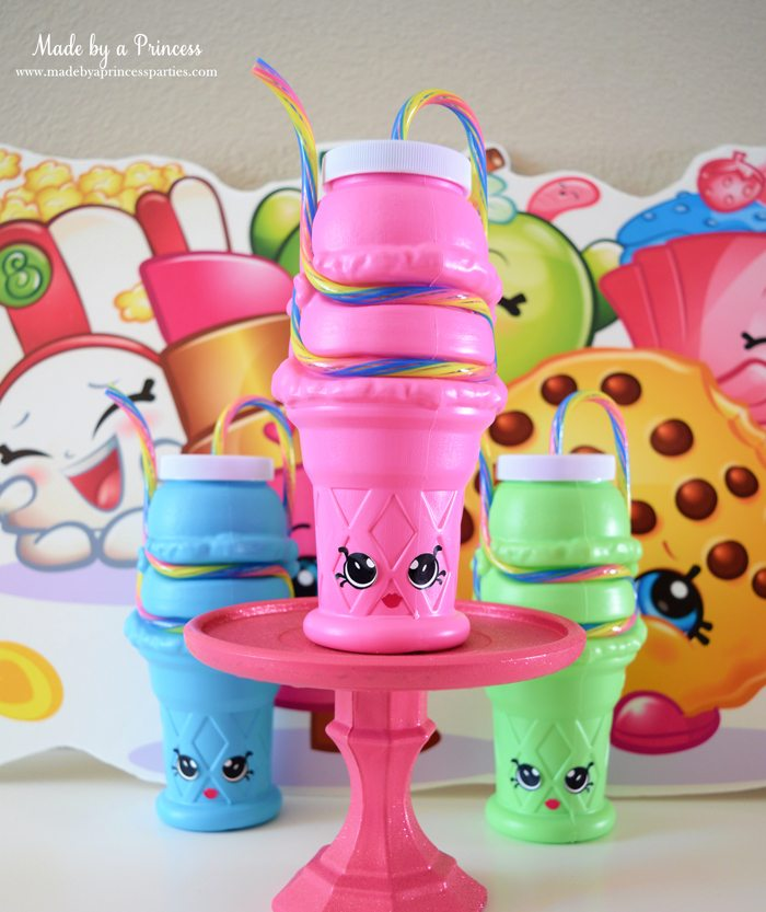 Shopkins Inspired Kylie Cone Party Favors