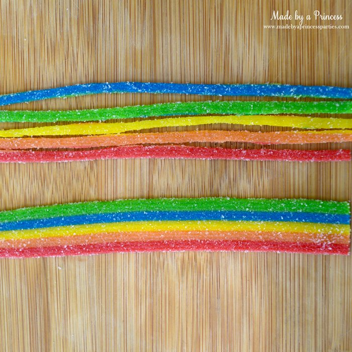 candy graduation cap cupcake toppers sour belts