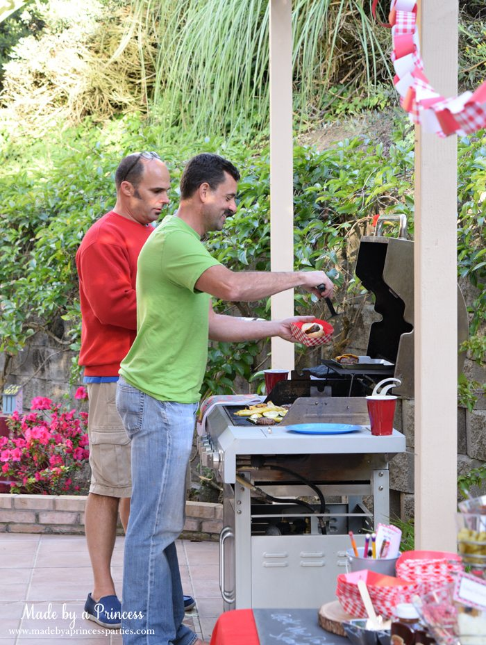 heinz build your own burger bar dads grilling
