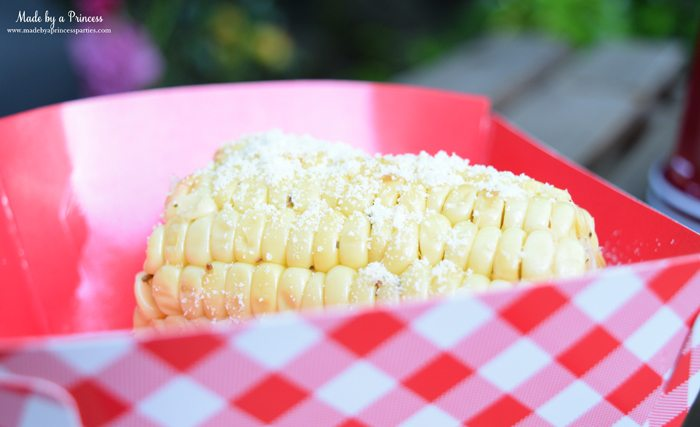 heinz build your own burger bar lemon parmesan corn 2