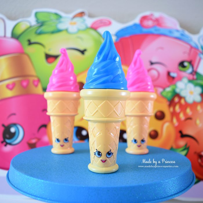 Shopkins Inspired Ice Cream Dream Party Favors