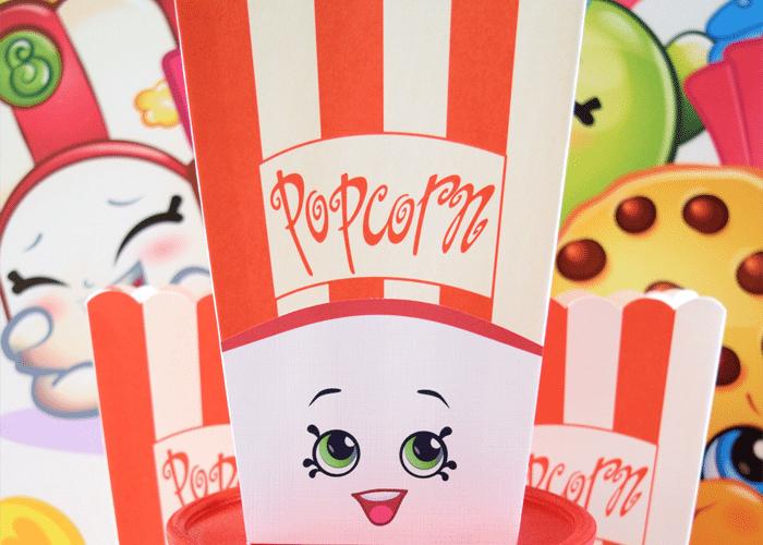 Shopkins Inspired Poppy Corn Party Favor