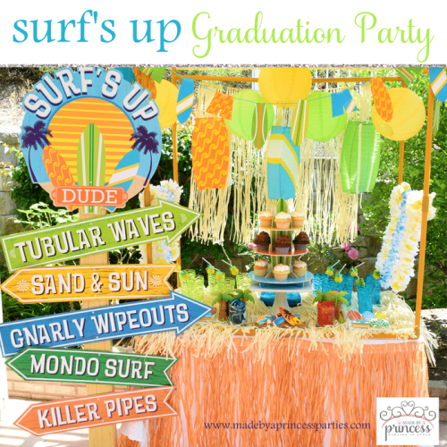 surfs up graduation party with evite main