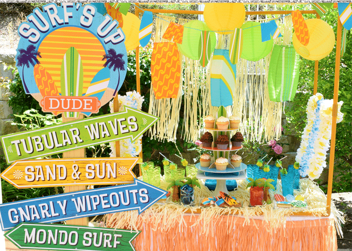 Surfs Up Graduation Party Ideas