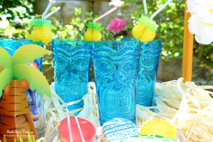 surfs up graduation party with evite tiki cups