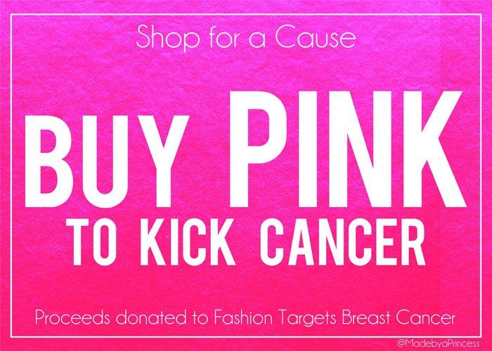Shop PINK to Kick Cancer