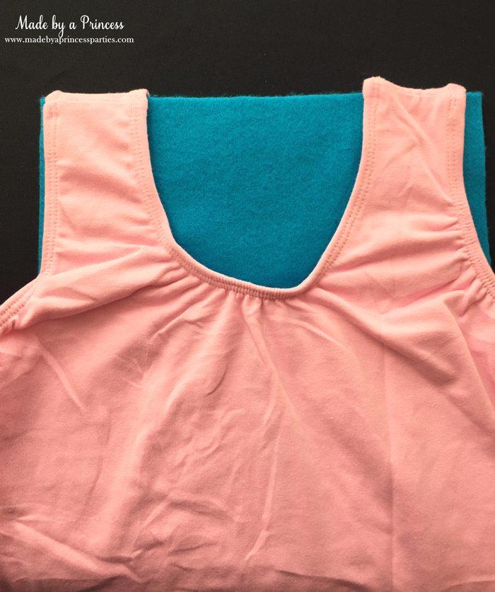 diy-shopkins-shoppie-halloween-costume-place-felt-inside-leotard-to-determine-cut-lines-for-neckline
