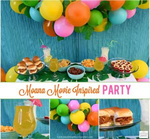Disney Moana Movie Inspired Party
