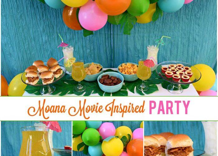 Disney Moana Movie Inspired Party