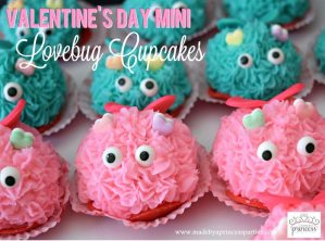 Mini Lovebug Cupcakes Tutorial