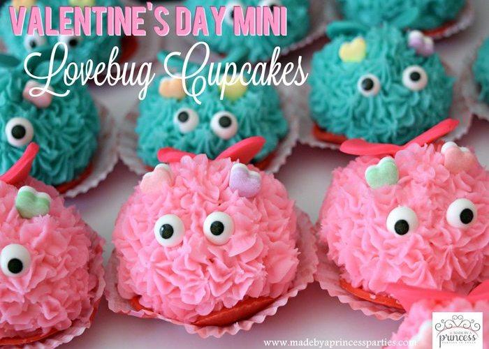 Mini Lovebug Cupcakes Tutorial
