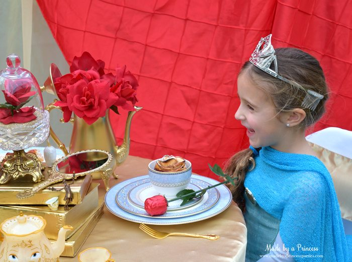 Beauty-and-the-Beast-Movie-Tea-Party-for-Two-this-is-one-happy-queen