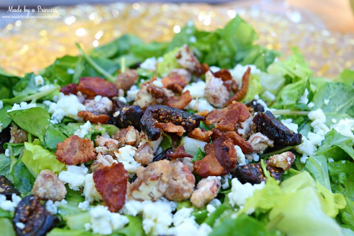 Fig Candied Pecan Gorgonzola Salad Honey Champagne Vinaigrette 2