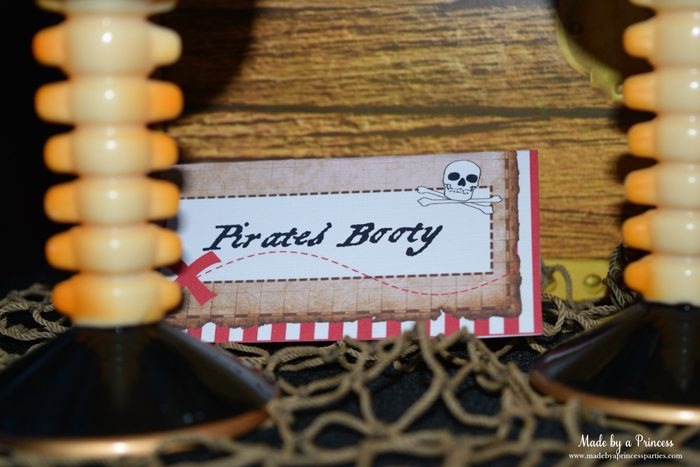 pirate party food free printables pirates booty label