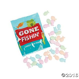 Fishing Baby Shower Ideas fish candy