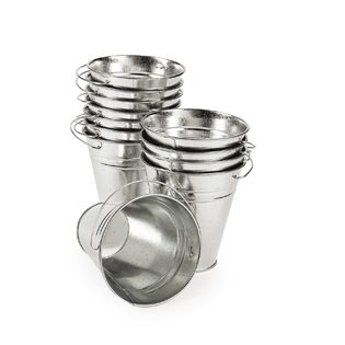 fishing baby shower ideas small tin buckets