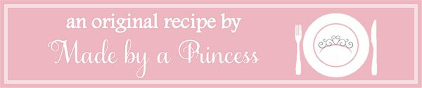MadebyaPrincess Original Recipe Badge