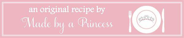 MadebyaPrincess Original Recipe Badge