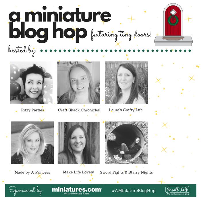 How to Create Your Own Tiny Elf Door Tutorial Blog Hop