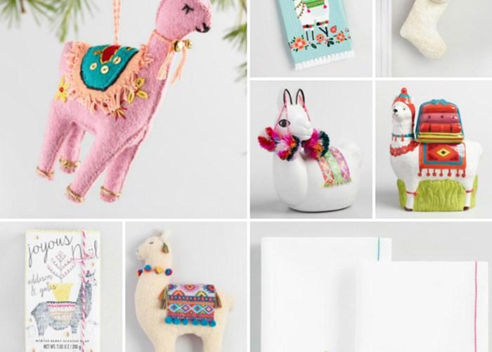 No Llama Drama World Market Holiday Gift Guide