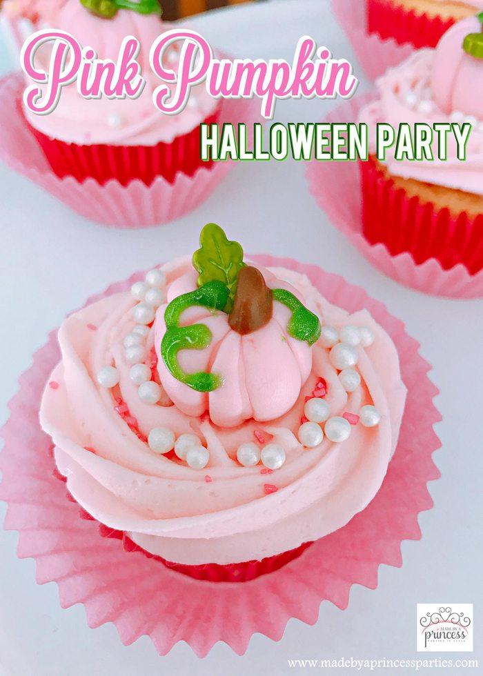 pink pumpkin halloween party ideas
