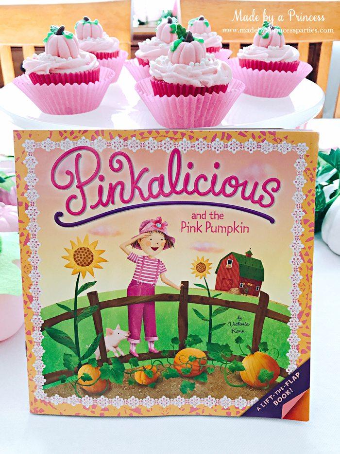 Pink Pumpkin Halloween Party Ideas pinkalicious and the pink pumpkin book Made by a Princess #pinkparty #pinkoween #pinkpumpkinparty