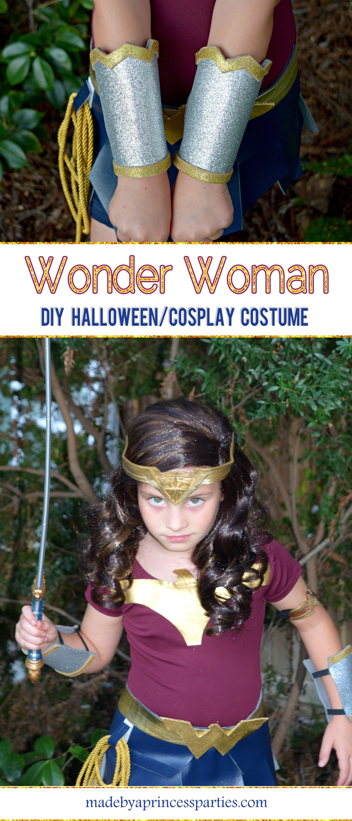 Wonder Woman Movie Costume for Halloween or Cosplay Pin Now Read Later MadebyaPrincess #halloweencostume #wonderwoman #galgadot #wonderwomancostume