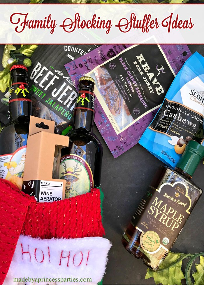 Find all you need to fill your stockings with these Family Stocking Stuffer Ideas For Mom Dad Teens Girls. #stockingstuffers #stockingstufferideas #stockingstuffersforteens #stockingstuffersforkids #stockingstuffersforhusband #stockingstuffersformom #christmasstockings #christmastime #christmasshopping via @madebyaprincess
