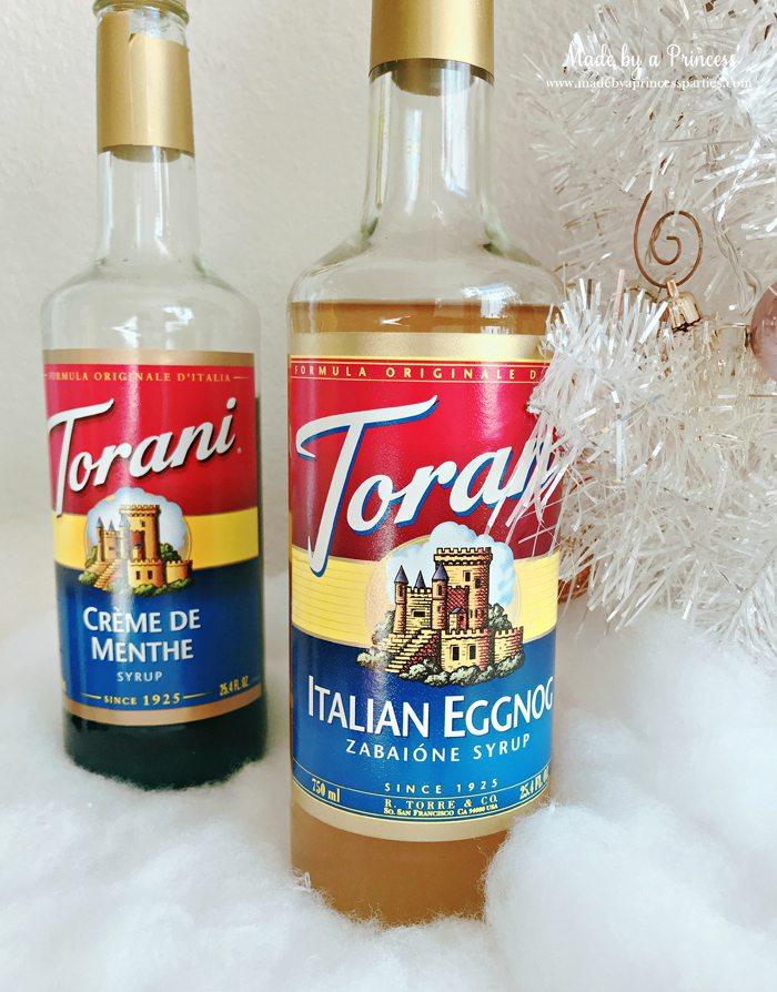How to Make Italian Cream Soda Party Idea Italian Eggnog and Creme de Menthe Torani Syrups