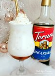How to Make Italian Cream Soda Party Idea Yummy Gingrebread Torani Syrup Holiday Favorite