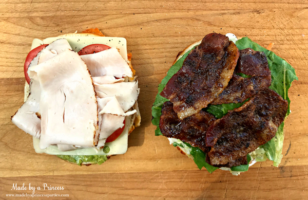 Best Turkey BLT Sandwich Recipe add turkey and candied bacon via @madebyaprincess #turkeysandwich #blt #bltsandwich #bestsandwich #recipe #turkeyblt #madebyaprincess