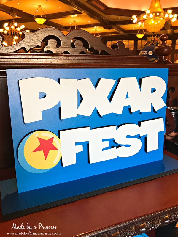 Disneylands Best Pixar Fest Food Checklist look for special signs throughout the park #disneylandfood #disneyfood #pixarfest #madebyaprincess