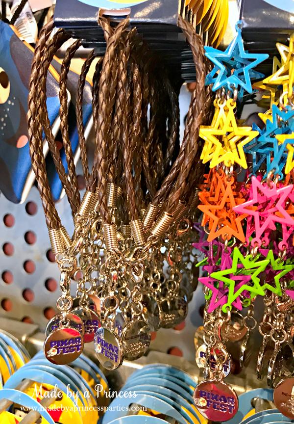 Disneylands Pixar Fest Exclusive Merchandise Bracelets #pixarfestmerchandise #disneybracelets #pixarfest #madebyaprincess