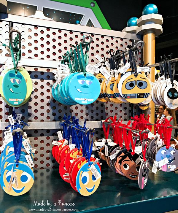 Disneylands Pixar Fest Exclusive Merchandise Christmas Ornaments #pixarfestmerchandise #disneyornaments #pixarfest #madebyaprincess