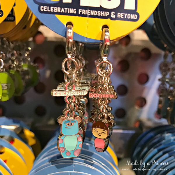 Disneylands Pixar Fest Exclusive Merchandise Sulley and Boo Charms #pixarfestmerchandise #disneycharms #pixarfest #madebyaprincess