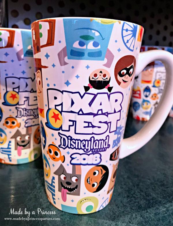 Disneylands Pixar Fest Exclusive Merchandise #pixarfestmerchandise #disneymug #pixarfest #madebyaprincess