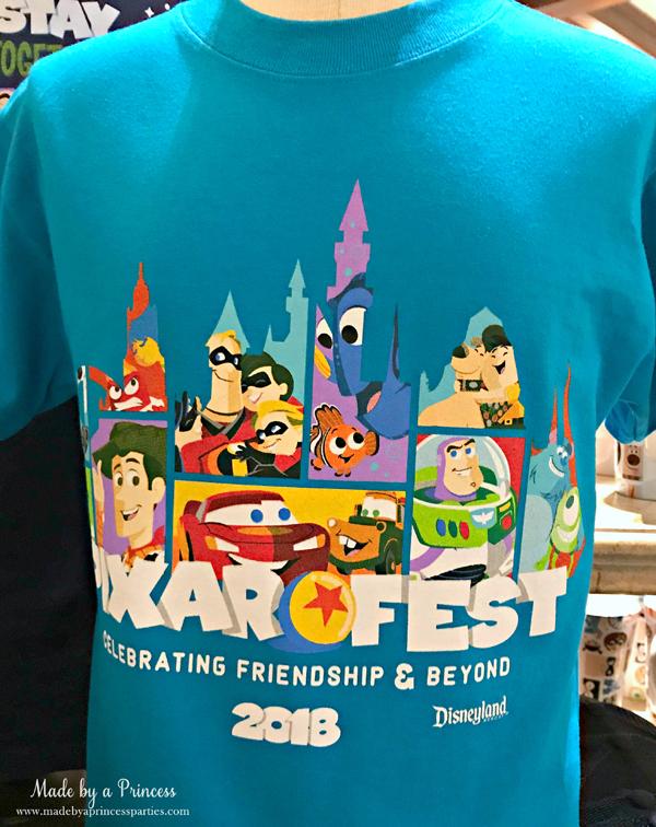 Disneylands Pixar Fest Exclusive Merchandise turquoise t shirt #pixarfestmerchandise #disneytshirt#pixarfest #madebyaprincess