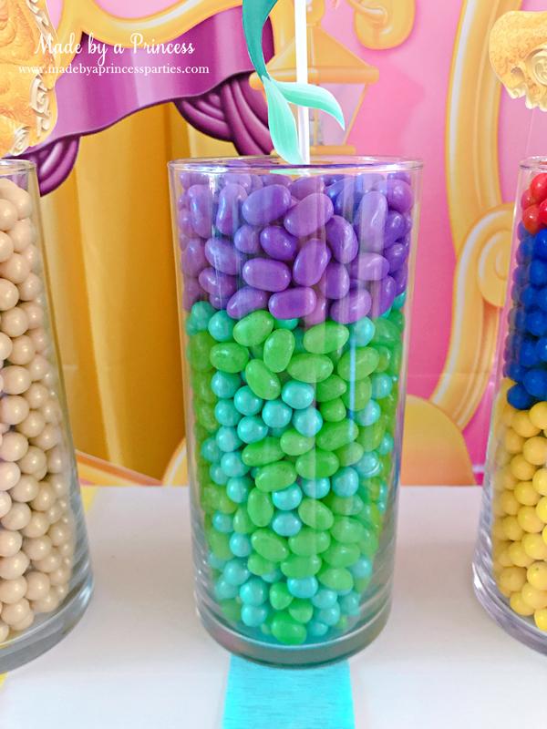 Disney Princess Party Ideas Little Mermaid Ariel Candy