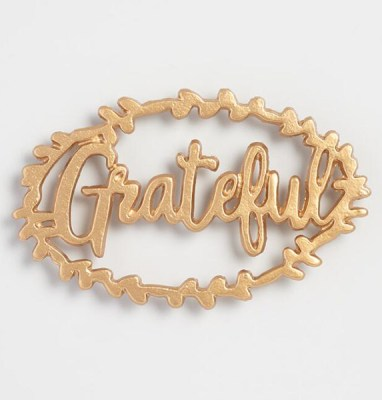 Golden Holiday Entertaining Essentials grateful trivet